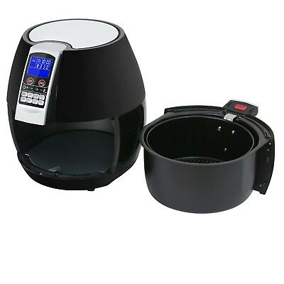 Electric Deep Air Fryer W/ 8 Cooking Presets, Temperature Control, Timer 1500W