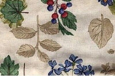 USA NEW Longaberger LARGE RECIPE Basket LINER in BOTANICAL FIELDS Fabric- RARE