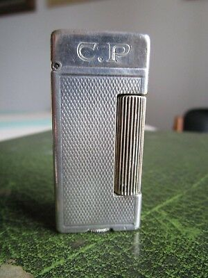 Dunhill : Ancien Briquet A Essence