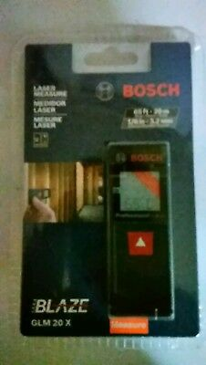 BOSCH GLM 20 65ft LASER MEASURE, BRAND NEW - In Package