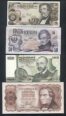 WORLD PAPER MONEY - LOT OF 8 BANK NOTES VF to UNC