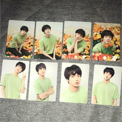BTS Love Yourself World LY Tour JIN Mini Photo 8 Set official photocard JPN