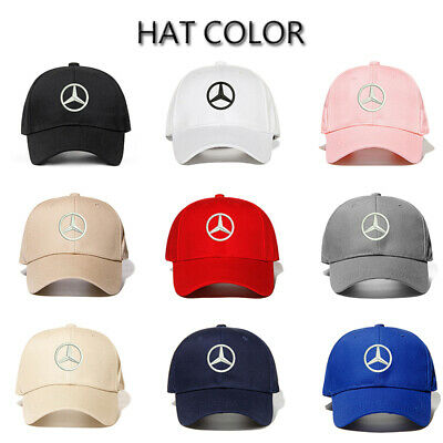 NEW Benz² Logo Embroidery AMG Car Cap Sport Baseball Hat outdoor Adjustable  cap 1f51ff49c3aa