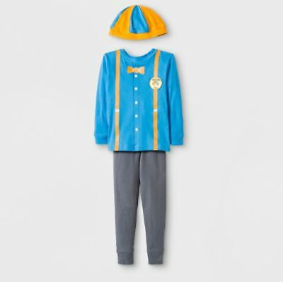 Blippi FAN BLIPPI FAN* PJS TODDLER* BLIPPI 2T INCLUDE HAT* HARD TO FIND