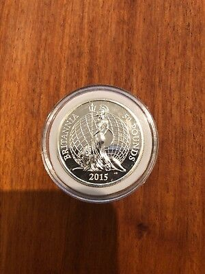 Royal Mint 2015 Britannia £50 Coin Not Sealed Good Condition With Coin Case UK