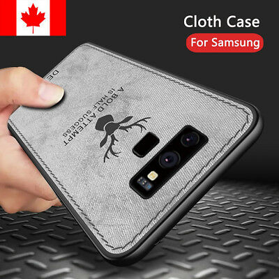 For Samsung Galaxy Note 8 9 S8 S9 Plus Case- Hybrid TPU Leather Shockproof Cover