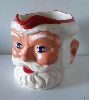 1950s Birds Custard Santa Jug In Great Condition