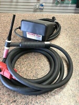 Thermal arc foot amp control #600285 and WP26 Tig Torch