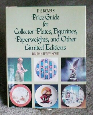 1978 Kovels Price Guide Collectors Plates Figurinens & Paperweights 200 pages