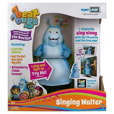 "Beat Bugs 6"" Singing Walter Toy Figure Blue"