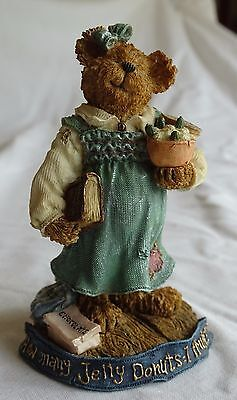 BOYDS BEARS & FRIENDS 2002 Style #228384 Newmom JELLY DONUTS GREAT EXPECTATIONS