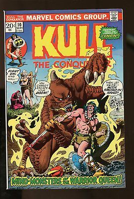 KULL THE CONQUEROR #10 VF/ NM 9.0 1973 MARVEL COMICS #stp-189