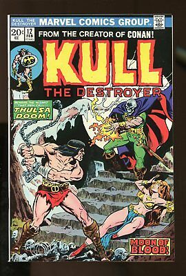 KULL THE CONQUEROR #12 VF/ NM 9.0 1974 MARVEL COMICS #stp-191