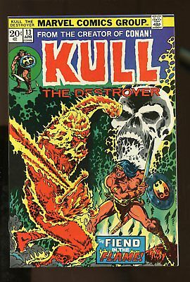 KULL THE CONQUEROR #13 VF/ NM 9.0 1974 MARVEL COMICS #stp-192