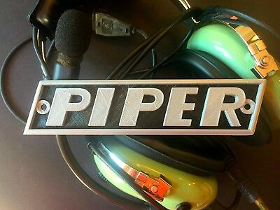 PIPER CUB, PA-20 PACER, COLT & PA-22 TRI-PACER Boot Cowl Emblem, NEW