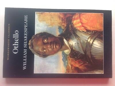 Othello by William Shakespeare - Play,Drama - Wordsworth Classics book