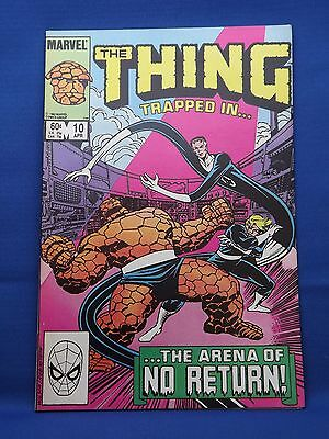 Marvel The Thing Comic #10 Apr 1984