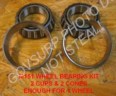 Wheel Bearing Set / Kit For M416 Trailer Nos Pn# 5702247 Nsn: 2530-00-887-1341