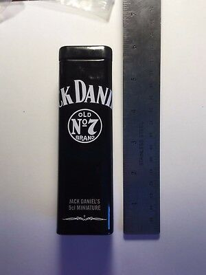Jack Daniels UK 2012 Mini Tin with glass 5cl Bottle Very Rare!!