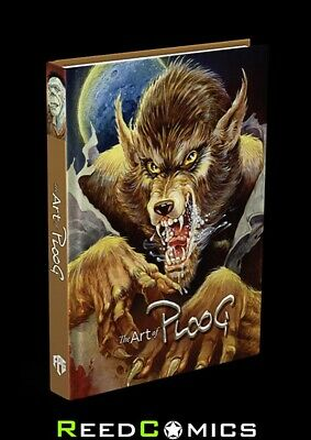 Art Of Mike Ploog Volume 1 Werewolf Edition Signed And Numbered Padded Hardcover