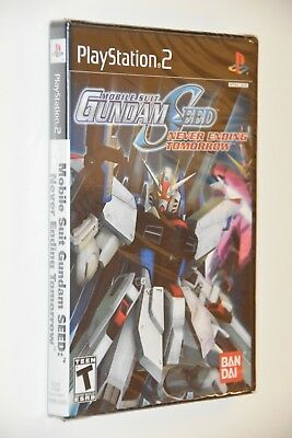 Brand New Mobile Suit Gundam Seed Never Ending Tomorrow Sony Playstation 2 PS2