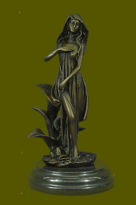 BRONZED EARTH MOTHER Goddess Gaia Statue - $54 90 | PicClick