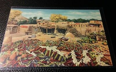Santa Clara Indian Reservation Postcard / New Mexico NM / Native American / ABQ