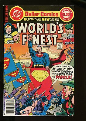 WORLD'S FINEST #247 VERY FINE- 7.5 1977 DC COMICS #stp-1011