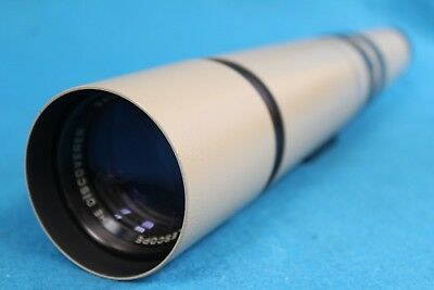 "Bausch & Lomb ""The Discoverer"" Zoom 60mm Telescope W/ Soft Case"