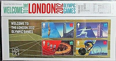 GB 2012 Welcome to The London Olympic Games Presentation Pack. No 474.