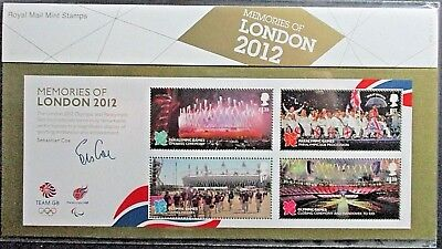 GB 2012 Memories of London 2012 Olympics & Paralympics Presentation Pack.