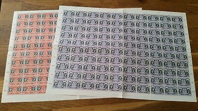 Lithuania    1934 -1940   Lot of Sheets and sheetparts  MNH