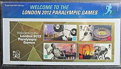 GB 2012 Welcome to The London Paralympic Games Presentation Pack. No 475
