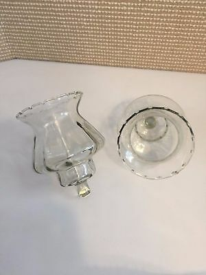 2 Home Interiors Country Shade Votive Candle Holders Sconce Cups