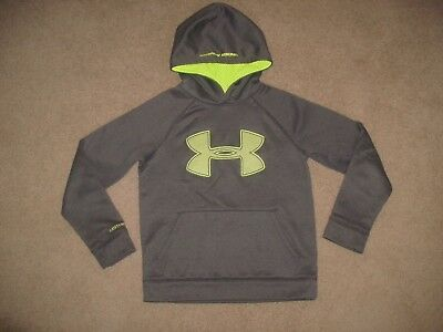 Boy's Under Armour Storm Big Logo Loose Fit Hoodie Sweatshirt - Youth Small