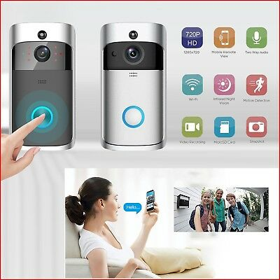 Berryku Wireless Video Doorbell Smart Phone HD & IR Camera Voice Intercom Motion