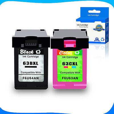 63 63XL Ink For HP Envy 4512 4513 4516 4520 4523 4522 OfficeJet 3830 4650 4654