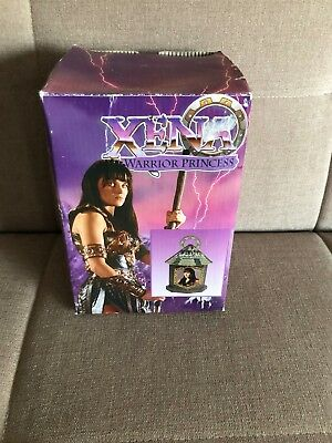 OFFICIAL Xena (Lucy Lawless) Vintage Trinket Box With Chakram Handle - NEW