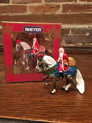 Breyer 1999 FATHER CHRISTMAS Ornament 1st In Series Holiday Santa Horse 70799