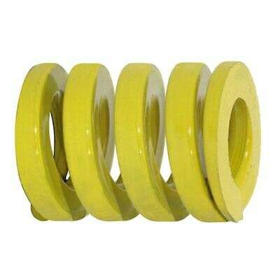"""Danly 9-2414-36 1-1/2""""OD x 3/4""""ID x 3-1/2""""OAL Extra Heavy Load Yellow Die Spring"""