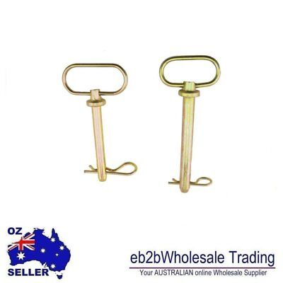 Lynch Linch Pin Shaft Retaining Lock Clip R Pin Trailers Cars
