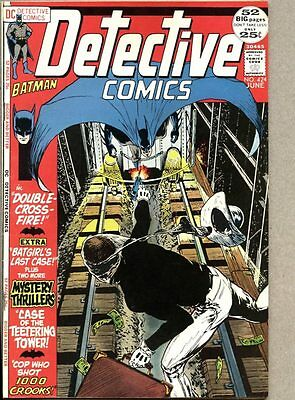 Detective Comics #424-1972 vf- Batman Giant Batgirl Mike Kaluta