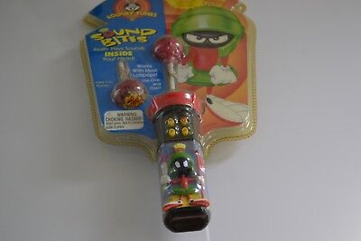 MARVIN THE MARTIAN Sound Bites Lollipops-New-Highly Collectible