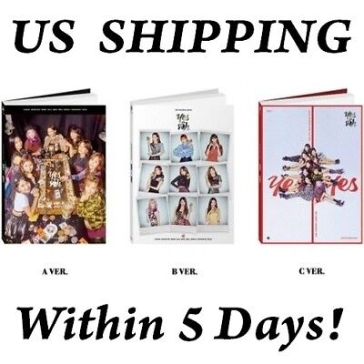 US SHIPPING TWICE-[YES Or Yes] 6th Mini Random CD+Book+Card+Tracking