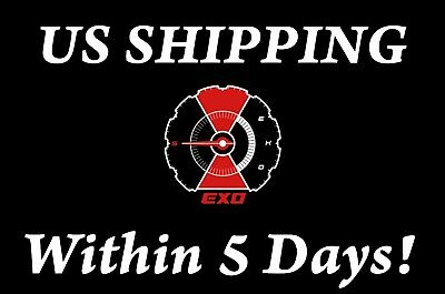 US SHIPPING EXO-[Don't Mess Up My Tempo] Random CD+Poster+Book+etc+Gift+Tracking