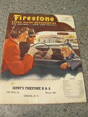 VTG 1949 Firestone Fall & Winter Catalog: Appliances, Tires, Tool Toys and more