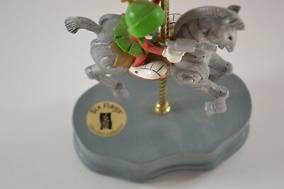 Marvin the Martin RIDING CAROUSEL HORSE 1997 SIX FLAGS PARKS WARNER BROS MUSIC B