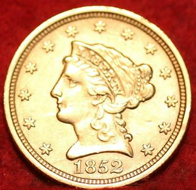 1852 Philadelphia Mint Gold $2.50 Coin