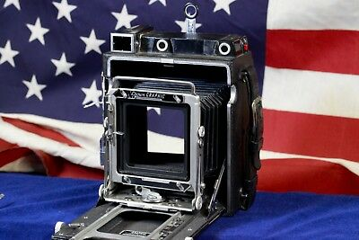 Graflex Crown Graphic Large Format 4X5 Press Camera body ONLY !