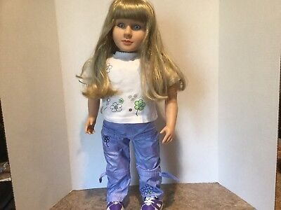 "Beautiful 1997/2008 My Twinn Posable DOLL 23"" Original Outfit, Underwear, Shoes"